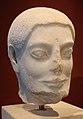 Testa di uomo barbato da una statua funebre o votiva, da atene o egina, 530-540 ac ca.JPG