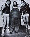 Tex McKenzie, Haystacks Calhoun and Mario Milano - 1971 - Wrestling News n.24.jpg
