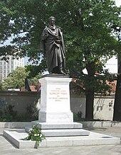 Albrecht-Thaer-Denkmal in Leipzig, geschaffen von Ernst Rietschel, 1850 (Quelle: Wikimedia)