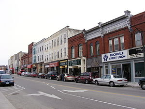 Ingersoll, Ontario - Thames St. in Ingersoll, Ontario (2008)