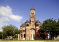 The 1897 Ellis County Courthouse in Waxahachie, Texas, south of Dallas LCCN2014632669.tif