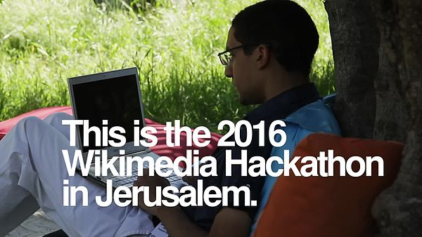 File:The 2016 Wikimedia Hackathon in Jerusalem.webm