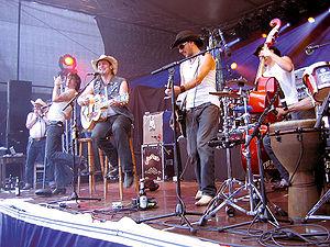 The BossHoss - The Boss Hoss in concert in Germany on 16 June 2007
