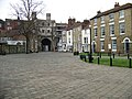The Christs Church Gate Canterbury from the Cathedral precinct - geograph.org.uk - 1108427.jpg