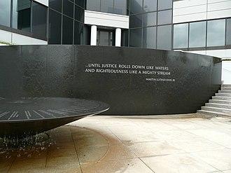 Civil Rights Memorial - The Civil Rights Memorial