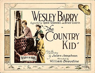 <i>The Country Kid</i> 1923 film by William Beaudine