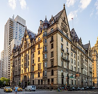 The Dakota Co-op apartment building in the Upper West Side of Manhattan in New York City