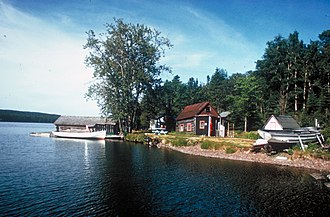 National Register of Historic Places listings in Keweenaw County, Michigan - Image: The Edisen Fishery Isle Royale National Park, Michigan
