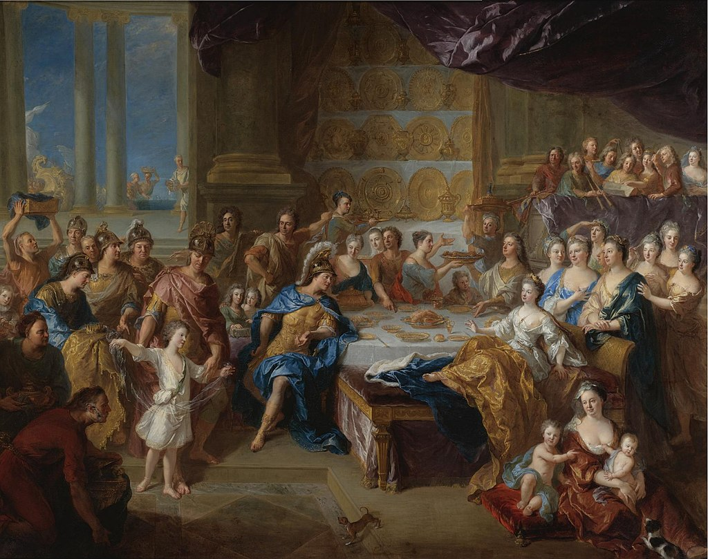 The Feast of Dido and Aeneas by François de Troy, 1704