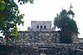 The Front of Pyramid El Castillo (The Castle) Tulum Mexico.JPG