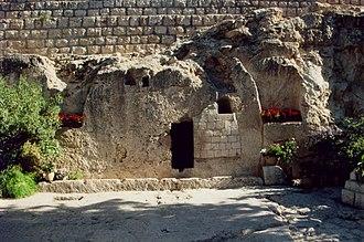 The Garden Tomb - The Garden Tomb in Jerusalem.