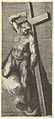The Good Thief, after Michelangelo's 'The Last Judgment' fresco in the Sistine Chapel MET DP836938.jpg