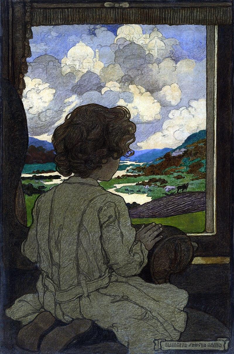 """""""The Journey"""" (1903) by Elizabeth Shippen Green"""