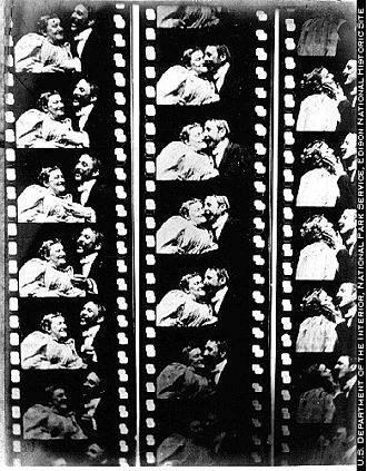 National Film Registry - The 47-second long The Kiss was one of the first films shown commercially to the public.