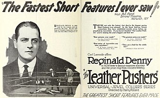 The Leather Pushers - Film ad with Reginald Denny