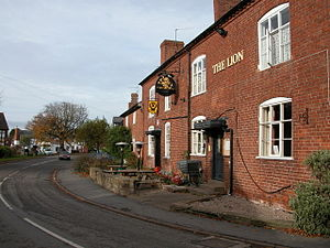 Clifton-upon-Teme - Image: The Lion, Clifton upon Teme