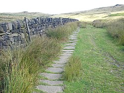 How Much Is A Mile >> Calderdale Way - Wikipedia
