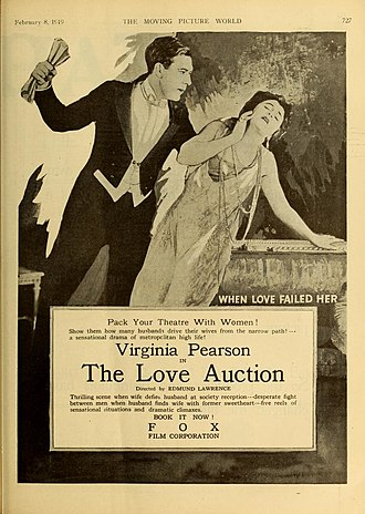 Virginia Pearson - Image: The Love Auction