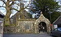 The Lych Gate and Ritchie of Cloncaird Mausoleum, Kirkmichael, South Ayrshire.jpg