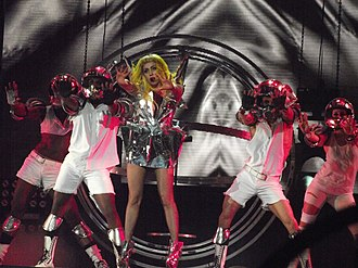 Premios 40 Principales for Best International Song - 2010 award winner for Bad Romance, Lady Gaga.