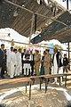 The Prime Minister, Dr. Manmohan Singh visits the bomb blast site, at Dilsukhnagar, in Hyderabad on February 24, 2013. The Chief Minister of Hyderabad, Shri Kiran Kumar Reddy is also seen (2).jpg