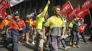 Strike action Work stoppage caused by the mass refusal of employees to work