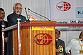 The Vice President, Shri M. Hamid Ansari addressing the gathering during the Valedictory function of the Toc H International Centenary celebrations, at Vyttila, Kochi, in Kerala on January 11, 2016.jpg