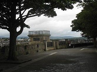 George Walker (soldier) - The Walker Plinth, on the Walls of Derry