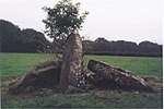Long barrow 350 m south-west of Cornerpool Farm