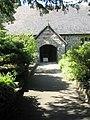 The church porch at St John the Baptist, Ditton Priors - geograph.org.uk - 1447185.jpg