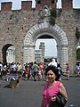 The gate of the Basilica of Santa Maria Maggiore, Pisa.jpg