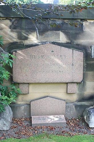 Hugh Miller - The grave of Hugh Miller, Grange Cemetery