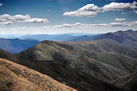 The Great Dividing Range is the third longest land-based range in the world. The great dividing range.jpg