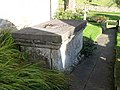 The lid of the tomb of William Carnaby (d. 1686) - geograph.org.uk - 1034891.jpg