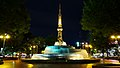 The night view of Hisaya Odori Park.jpg