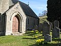 The porch and (part of) the graveyard of St. Mark's Church - geograph.org.uk - 1288005.jpg