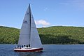 The sailboat Koobalibra, a C&C 115, competing in the Great Bras d'Or Cup, Leg 3 of Race the Cape 2013 08.jpg