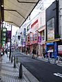 The spot whre the random-killing case in Shinsaibashi occurred.JPG