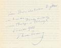 Theodor Haering, personal dedication in a copy of Philosophie des Verstehens, 1963.png