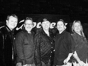 The Rockerz -  The Rockerz Lineup (2007) L to R: Chance, Brad, Stevie G, JT, Ray