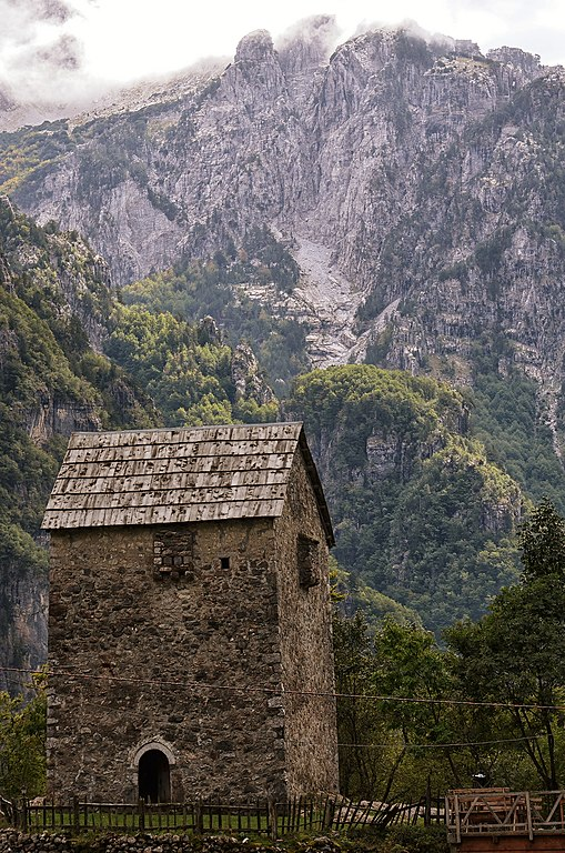 Lockup Tower, Theth, Albanian Alps