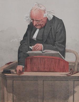 Thomas Binney - Thomas Binney, from Vanity Fair, 1872