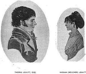 Benson Leavitt - Thomas Leavitt and wife Hannah, parents of Benson Leavitt