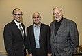 Thomas Perez, Peter Sagal, and Bill Kurtis.jpg