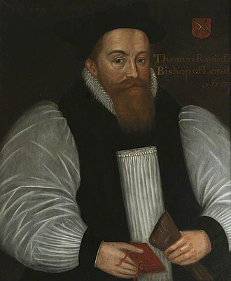 Bishop of Gloucester - Image: Thomas Ravis portrait