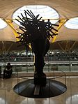 Three Ladies of Barajas (2004) by Manolo Valdés - Terminal 4 - 2.JPG
