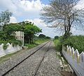 Thudiyalur railway crossing coimbatore 2.jpg