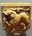 Tile, France, St. Urban, 1200s, moulded ceramic - Museum of Anthropology, University of British Columbia - DSC09031.jpg