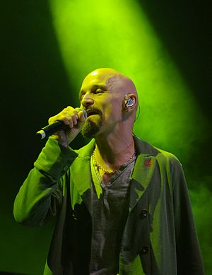 James (band) - Tim Booth at Haldern Pop 2013
