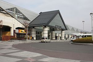 Tochigi Station - Tochigi Station south entrance